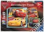 Ravensburger 08015 - Puzzle 3x49 Pz - Cars 3