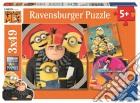Ravensburger 08016 - Puzzle 3x49 Pz - Cattivissimo Me 3