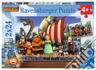 Ravensburger 09094 - Puzzle 2x24 Pz - Vicky Il Vichingo