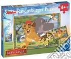 Ravensburger 09104 - Puzzle 2x24 Pz - Lion Guard - Avventure Nella Savana