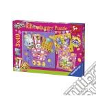 Ravensburger 09222 - Puzzle 3x49 Pz - Shopkins