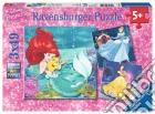 Ravensburger 09350 - Puzzle 3x49 Pz - Principesse Disney