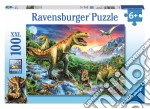 Puzzle super 100 pz - l'era dei dinosauri puzzle di RAVENSBURGER