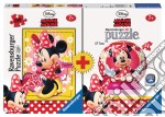 Bi-pack 100pz + mini 3d puzzle - dmm minnie mouse puzzle di RAVENSBURGER