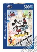 Puzzle 500 pz - retro mickey puzzle di RAVENSBURGER