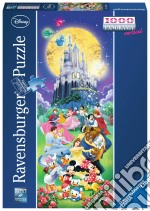 Puzzle 1000 Pz Panorama - Disney Castello puzzle di Ravensburger