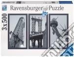 Puzzle 1500 pz - impressioni di new york (3x500) puzzle di RAVENSBURGER