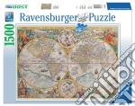 Ravensburger 16381 - Puzzle 1500 Pz - Mappamondo Storico puzzle di Ravensburger