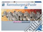 Puzzle 2000 pz - zebre - panorama puzzle di RAVENSBURGER