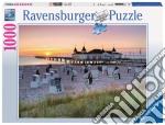 Puzzle 1000 pz - spiaggia sul mar baltico puzzle di RAVENSBURGER
