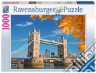 Ravensburger 19637 - Puzzle 1000 Pz - Fantasy - Vista Sul Tower Bridge