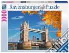 Ravensburger 19637 - Puzzle 1000 Pz - Fantasy - Vista Sul Tower Bridge