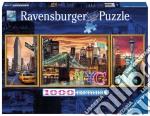 Ravensburger 19995 - Puzzle 1000 Pz - Panorama - Trittico - Sparkling New York puzzle di Ravensburger