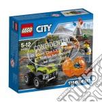 Lego 60120 - City - Starter Set Vulcano giochi