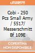 Cobi - 250 Pcs Small Army / 5517/    Messerschmitt Bf 109E