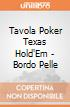 Tavola Poker Texas Hold'Em - Bordo Pelle