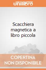 Scacchiera magnetica a libro piccola gioco