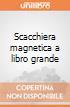 Scacchiera magnetica a libro grande