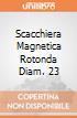 Scacchiera Magnetica Rotonda Diam. 23 giochi