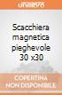 Scacchiera magnetica pieghevole 30 x30