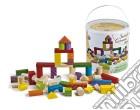 Giochi In Legno - Fustino Costruzioni 100 Pz giochi