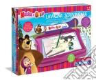Lavagna Scrivimpara Masha e l'orso giochi