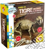 Discovery superkit fossili super kit tigre sciabola gioco di Liscianigiochi