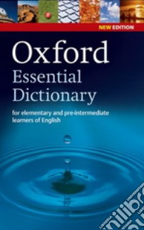 Oxford essentials learner's dictionary. Con CD-ROM libro