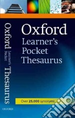Oxford learner's pocket thesaurus libro