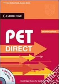 IRELAND PET DIRECT STD + CDROM libro di Ireland Sue, Kosta Joanna