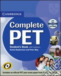 HEYDERMAN COMPLETE PET STD PACK+CD-ROM libro di May Peter, Heyderman Emma