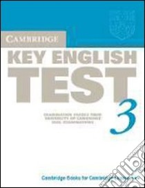 UCLES CAMB. KEY TEST 3 STD libro