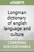 Longman Dictionary of English Language and Culture libro