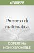 Precorso di matematica libro