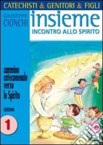 Catechisti & genitori & figli. Insieme incontro allo Spirito. Cammino catecumenale verso lo Spirito. Cresima (1) libro di Cionchi Giuseppe