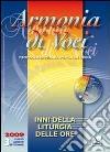 Armonia di voci (2009). Con CD Audio (3) libro