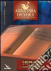 Armonia di voci (2013). Vol. 3 libro