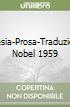 Poesia-Prosa-Traduzioni. Nobel 1959 libro