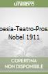 Poesia-Teatro-Prosa. Nobel 1911 libro