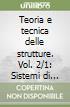 Teoria e tecnica delle strutture (2/1)