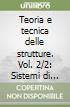 Teoria e tecnica delle strutture (2/2)