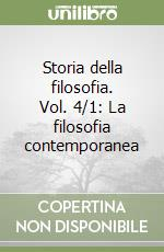 Storia della filosofia (4/1) libro di Abbagnano Nicola