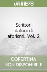 Scrittori italiani di aforismi (2) libro
