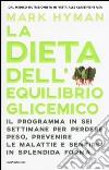 La dieta dell'equilibrio glicemico libro