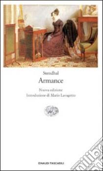 Armance libro di Stendhal