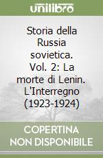 Storia della Russia sovietica (2) libro di Carr Edward