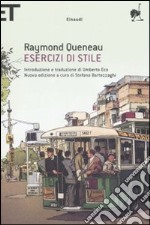 Esercizi di stile. Testo francese a fronte libro di Queneau Raymond
