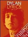 Lyrics 1961-1968 libro