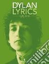 Lyrics 1983-2012 libro