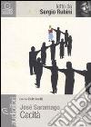 Cecità letto da Sergio Rubini. Audiolibro. CD Audio formato MP3 libro